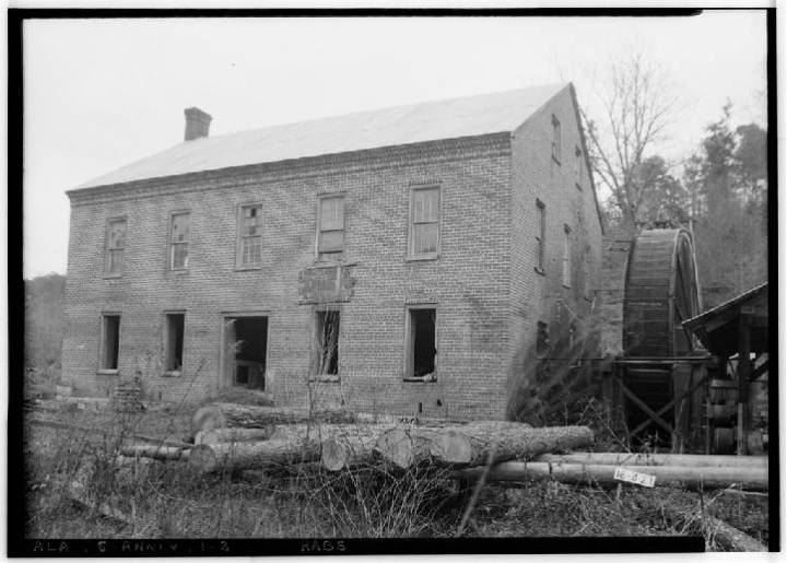 anniston building mill