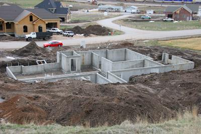 Come si costruisce una casa negli usa living in america - Fondamenta casa ...
