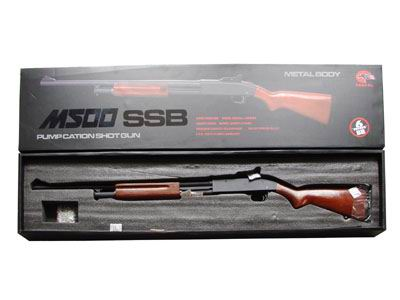 Mossberg-M500-Gas-Powered-Shotgun-Real-Wood-6mm-BB-s-DY11903-