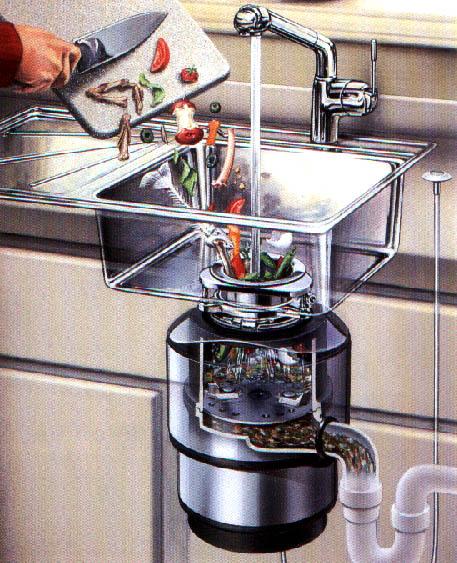Il tritarifiuti da lavandino 4 vecchi in america for Tritarifiuti lavandino
