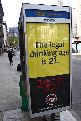 L'ALCOOL E LA MINIMA ETA' IN USA! (2/6)
